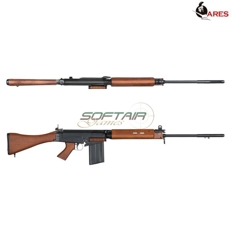 FAL L1A1 SLR FULL METAL & REAL WOOD ELECTRIC RIFLE ARES (AR-SC24)