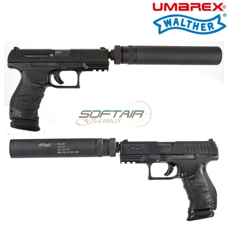 CO2 PISTOL BLOWBACK PPQ M2 NAVY DUTY KIT WALTHER UMAREX (2 5961-1-RM)