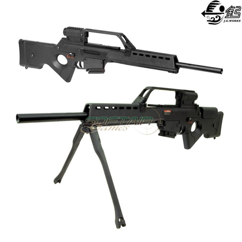 ELECTRIC AIRSOFT GUN G36 SL9 SNIPER TACTICAL FORCE JING GONG (6689)