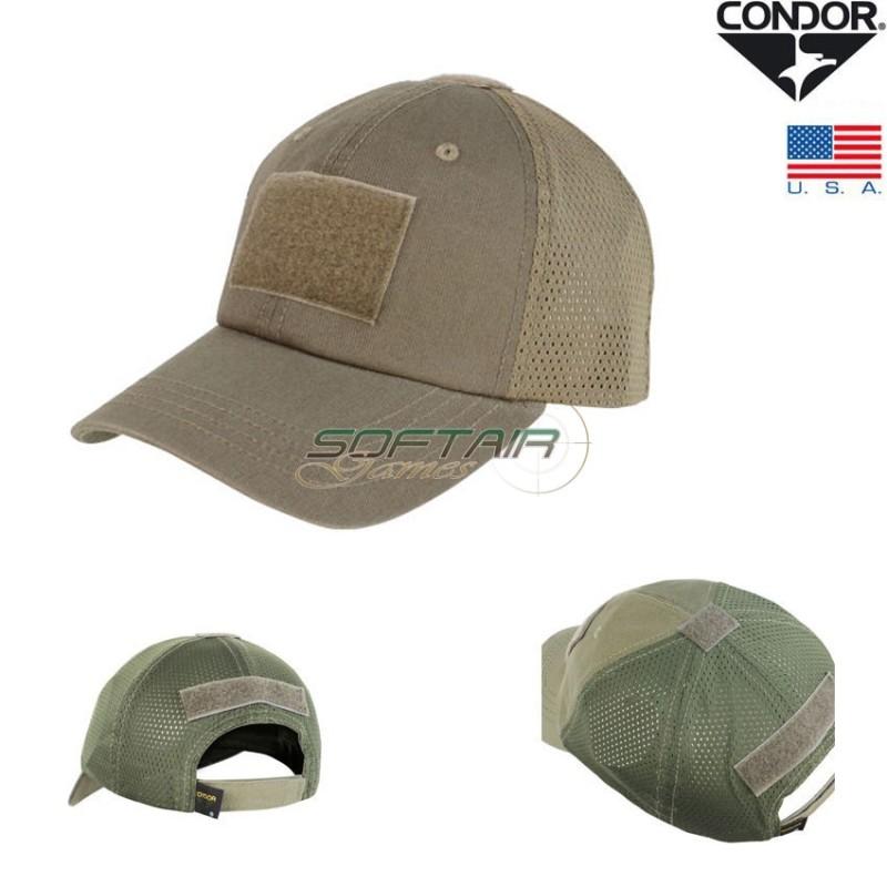 TACTICAL CAP MESH BROWN CONDOR® (0361-BR) 5e3c5ada4326