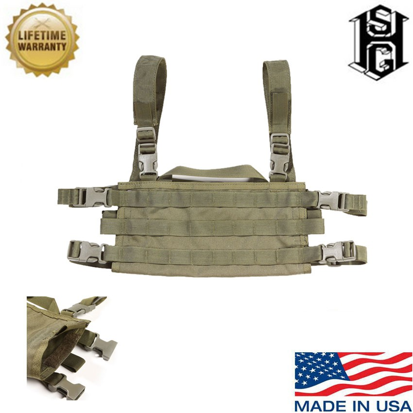 High Speed Gear 40SCR1OD Olive Drab AO Small Chest Rig