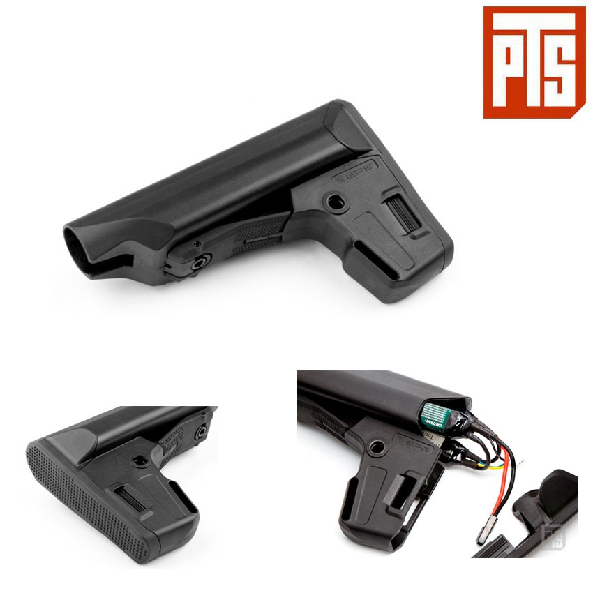 STOCK AEG/GBB M4 EPS BLACK PTS® (PTS-PT125450307)