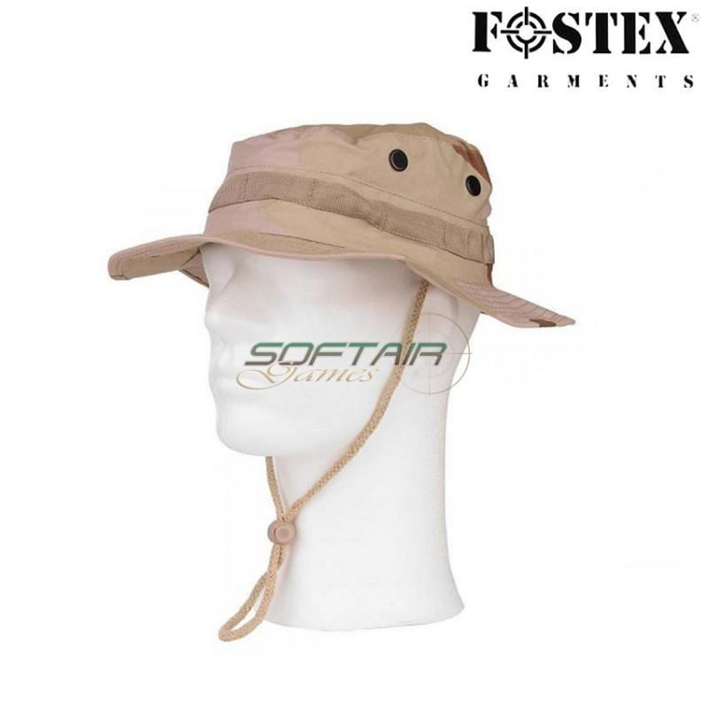 dd231ad7b2b JUNGLE BONNIE HAT DESERT THREE COLORS RIP-STOP FOSTEX (FX-213143-DTC)