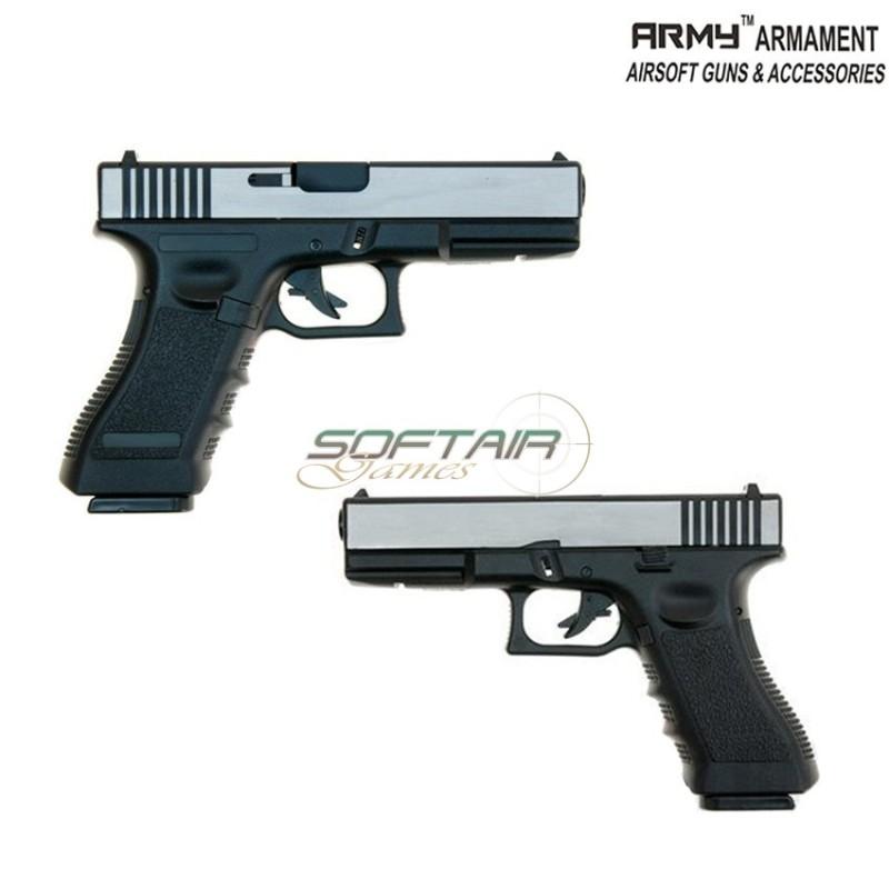 GAS PISTOL GBB GLOCK R17 BLACK ARMY™ ARMAMENT® (ARM-R17-BK)