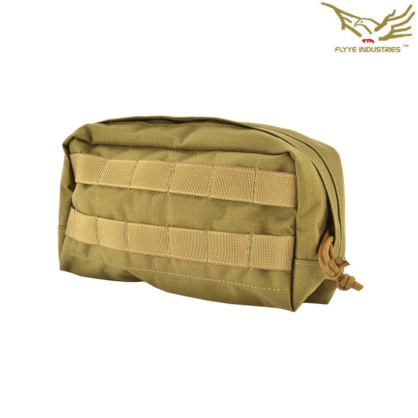 b52318753a SPECOPS HORIZONTAL ACCESSORY POUCH COYOTE BROWN FLYYE INDUSTRIES SOFTAIR