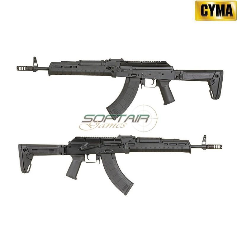 ELECTRIC RIFLE AK47 ZHUKOV MP STYLE BLACK CYMA (CM-077A-BK)