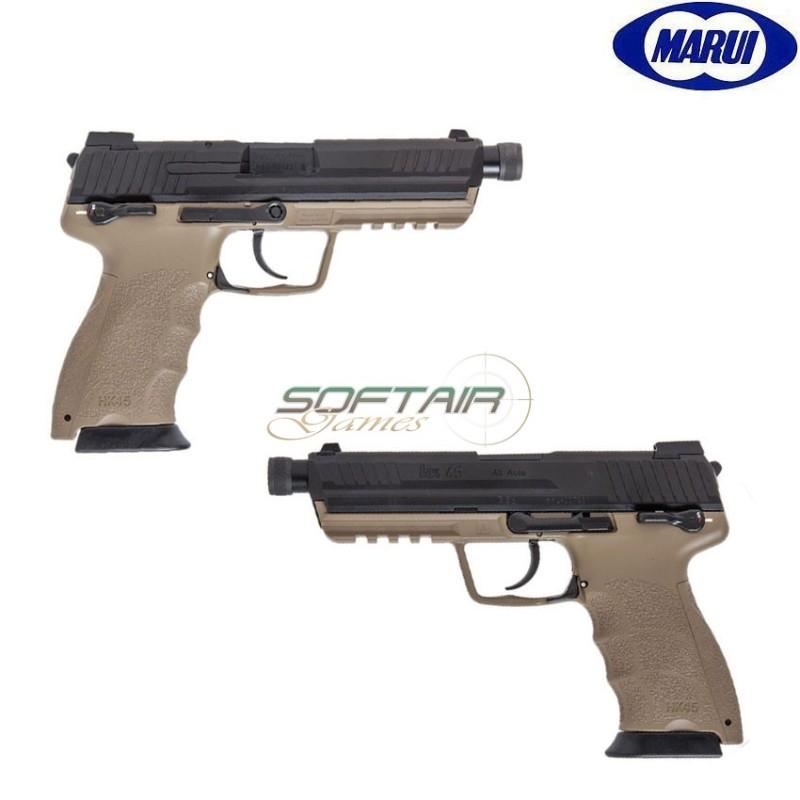 GAS PISTOL HK45 TACTICAL TWO TONE TOKYO MARUI (TM-142764)