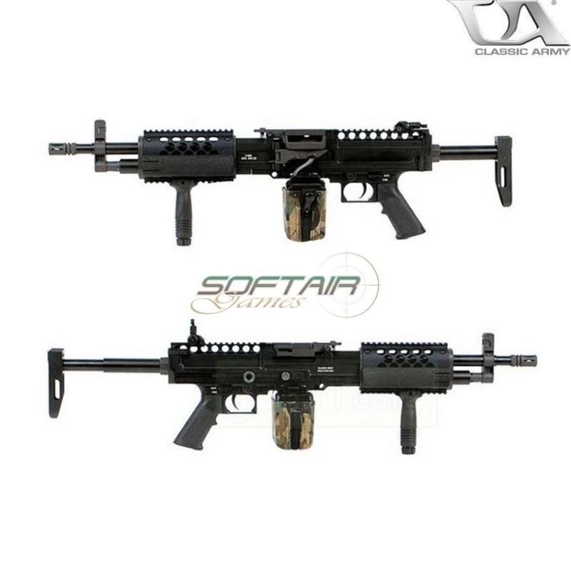 ELECTRIC MACHINE GUN STONER KAC LMG BLACK CLASSIC ARMY (CA-210213)