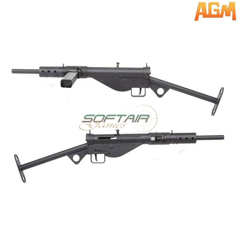 Electric Rifle Wwii Sten Mk2 Smg Full Metal Agm (agm-000827)