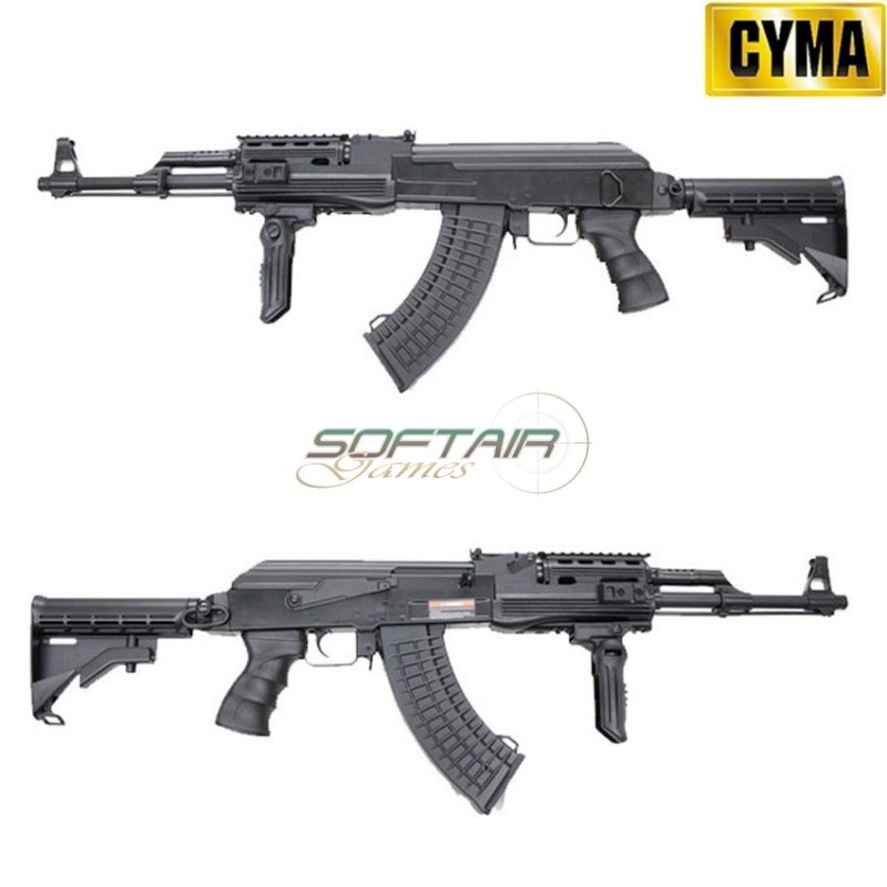 AK PMC BLACK TACTICAL RIS CYMA (CM028C)