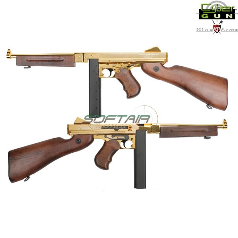 THOMPSON M1A1 GOLD MILITARY GRAND SPECIAL EDITION KING ARMS