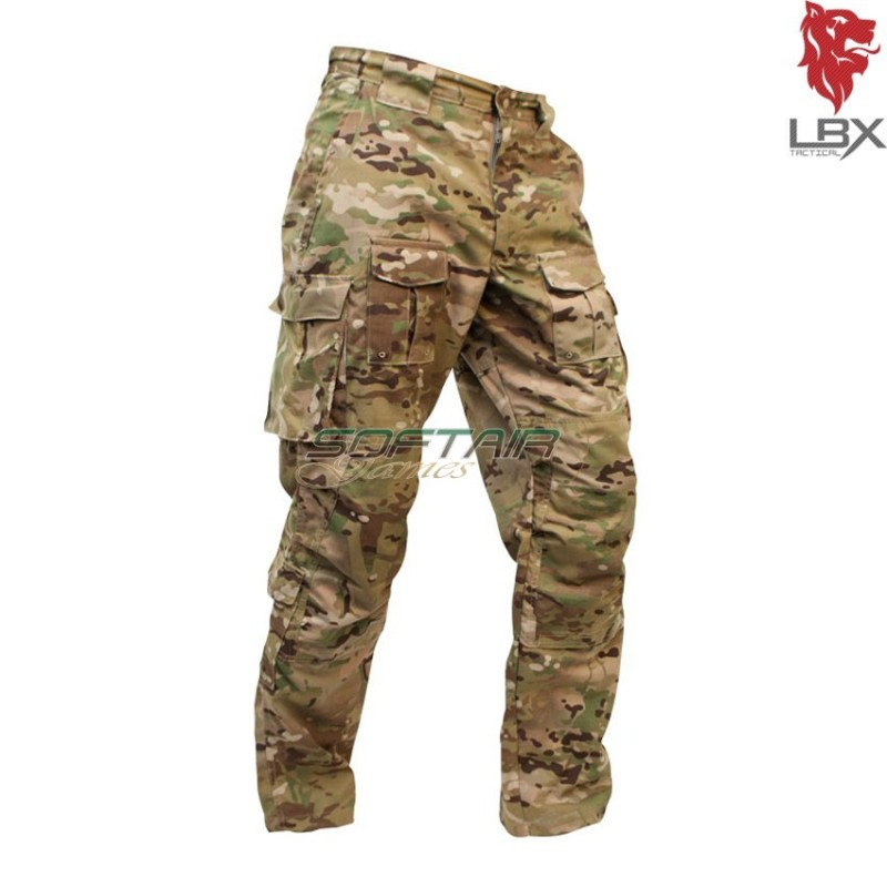 Tacticallbx Pantalone Combat Lbx Multicam® Mc Assaulters 0081a Igf6vb7Yy